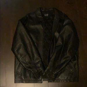 GAP leather jacket